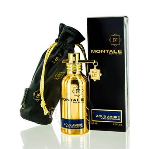 aoud ambre montale edp spray 1.7 oz  50 ml   u  aomes17