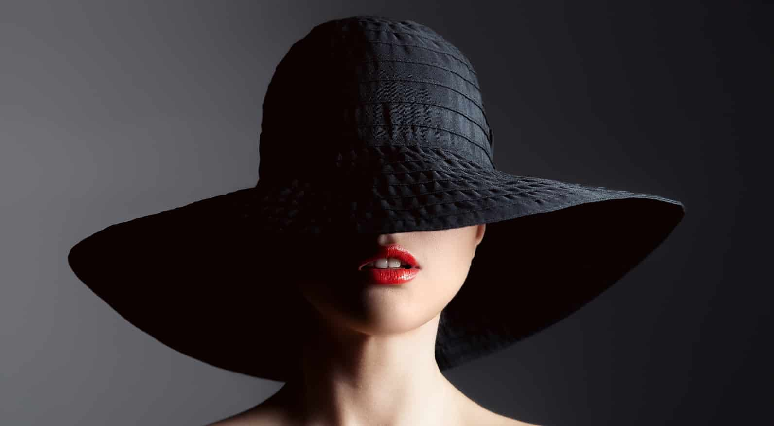 bigstock Beautiful woman in hat Retro 74786848 2