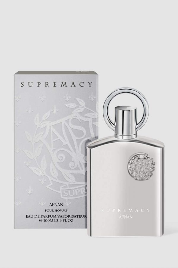 AFNAN SUPREMACY SILVER POUR HOMME EDP 100ML