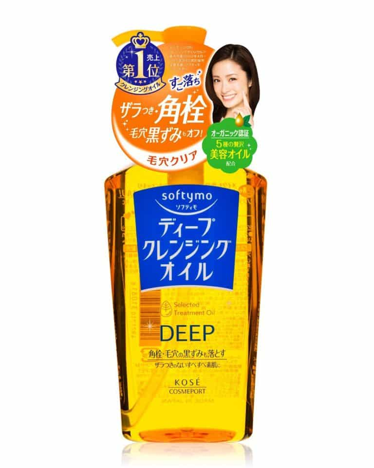Review dầu tẩy trang Kose Softymo Deep Cleansing Oil