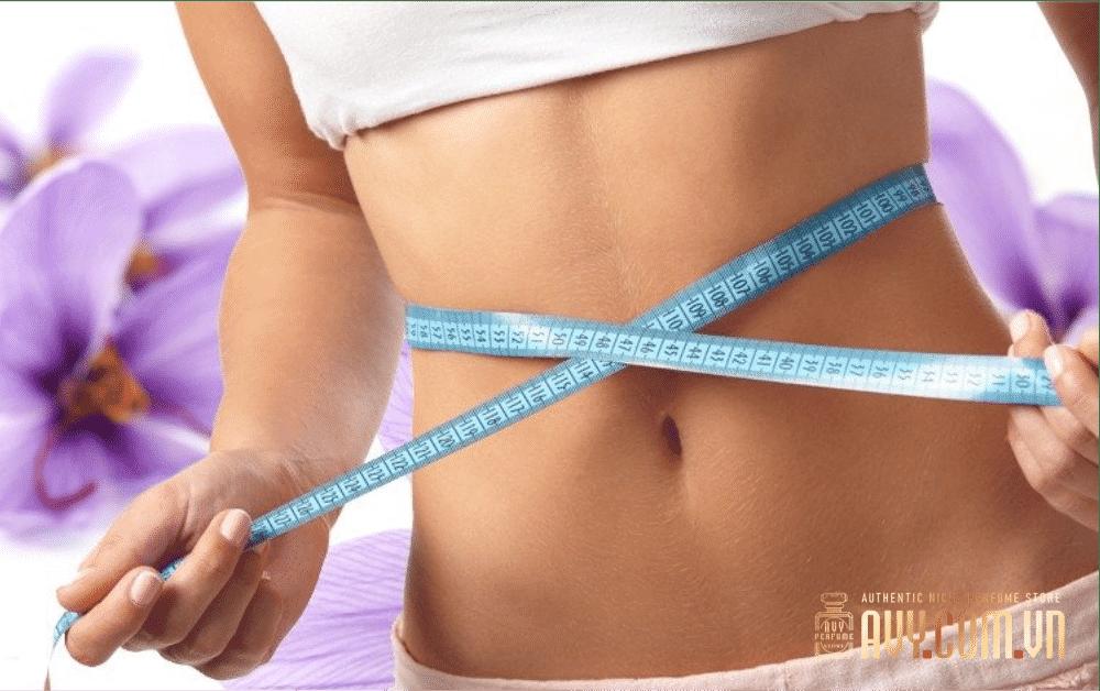 Tác dụng của saffron là giúp giảm cân