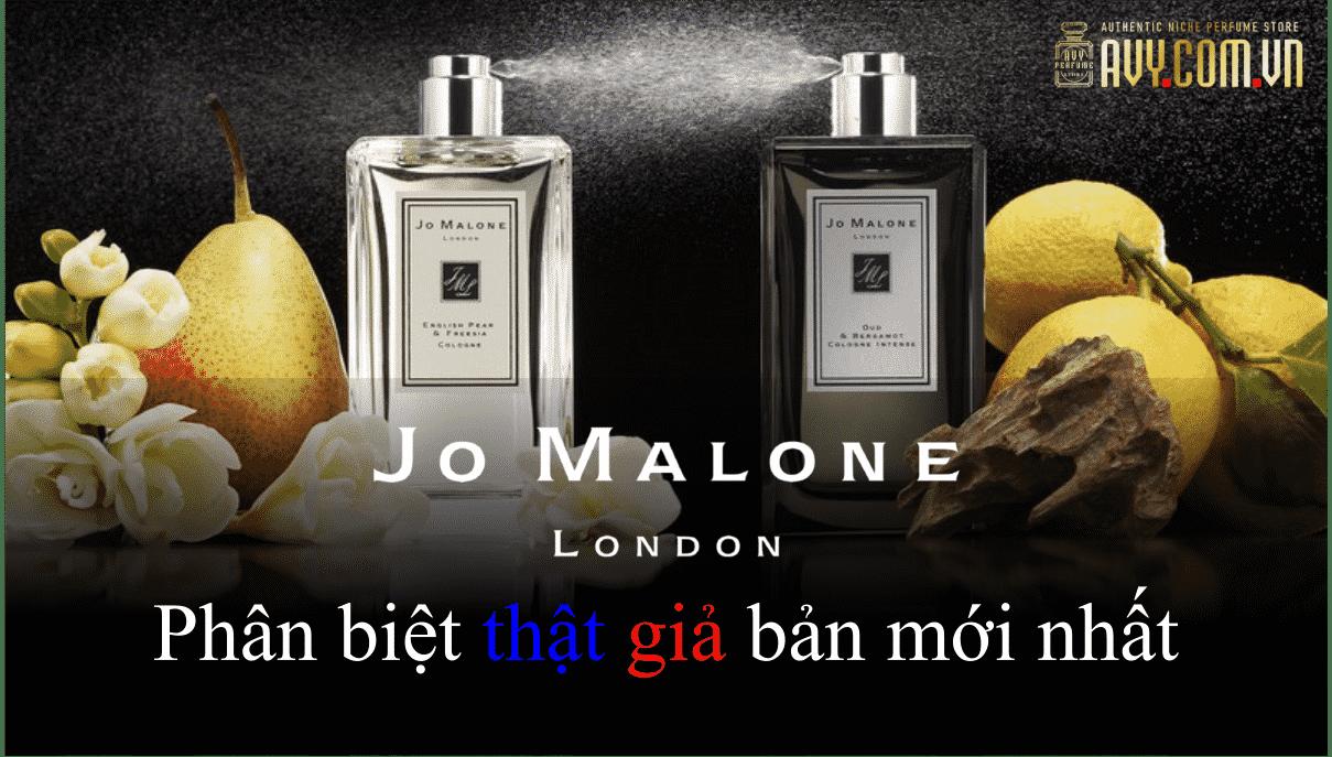 Phân biệt nước hoa Jo Malone thật giả